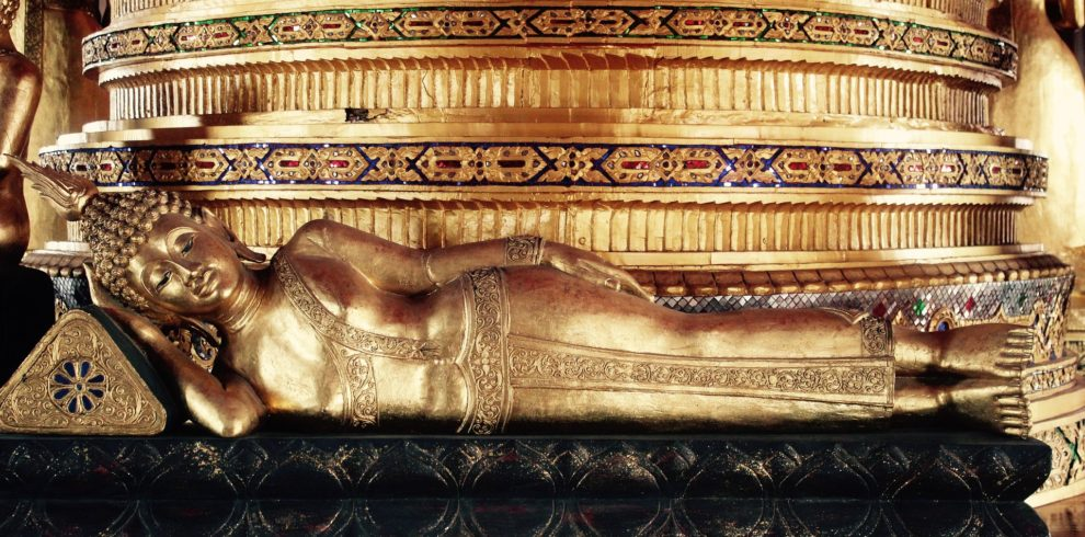 Reclining Buddha from Thailand