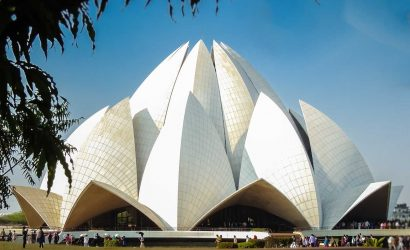 Image of the Lotus Temple
