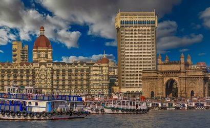a picture of the Taj in Mumbai