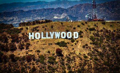 HOLLYWOOD letters in Los Angeles