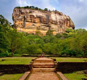The Sigiriya from Sri Lanka