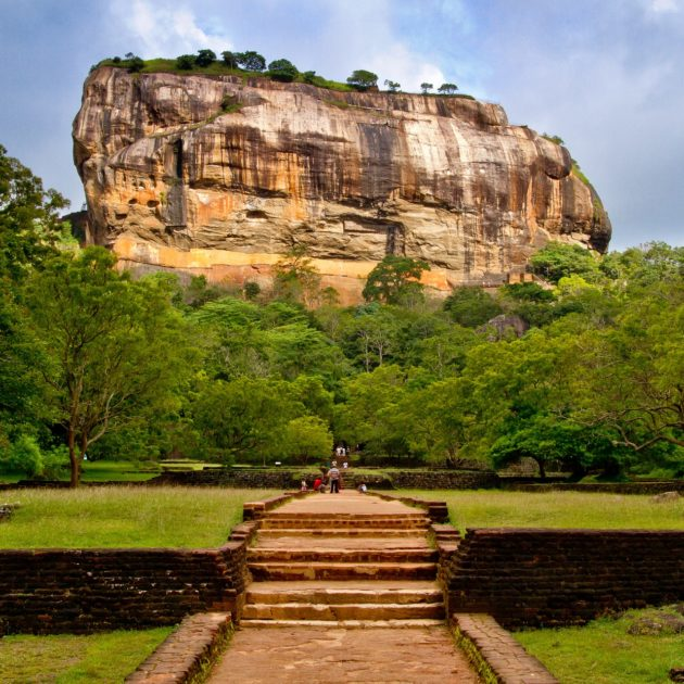 The Sigiriya from Sri Lanka