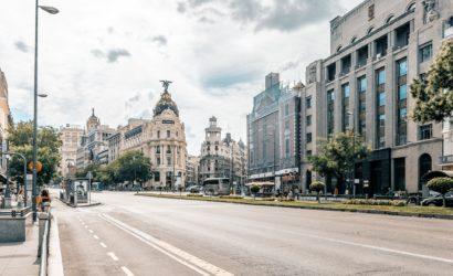 A street in Madrid