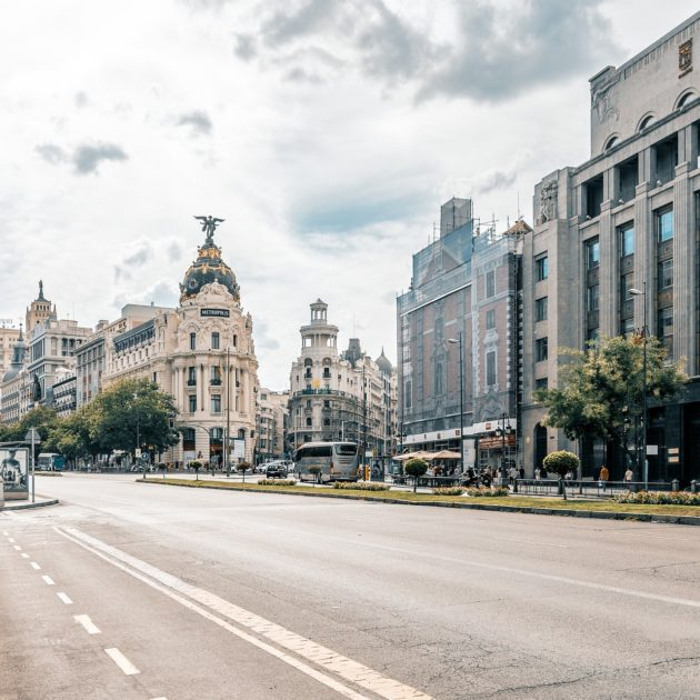 A street in Madrid