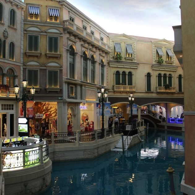 Inside of the Venetian Macau