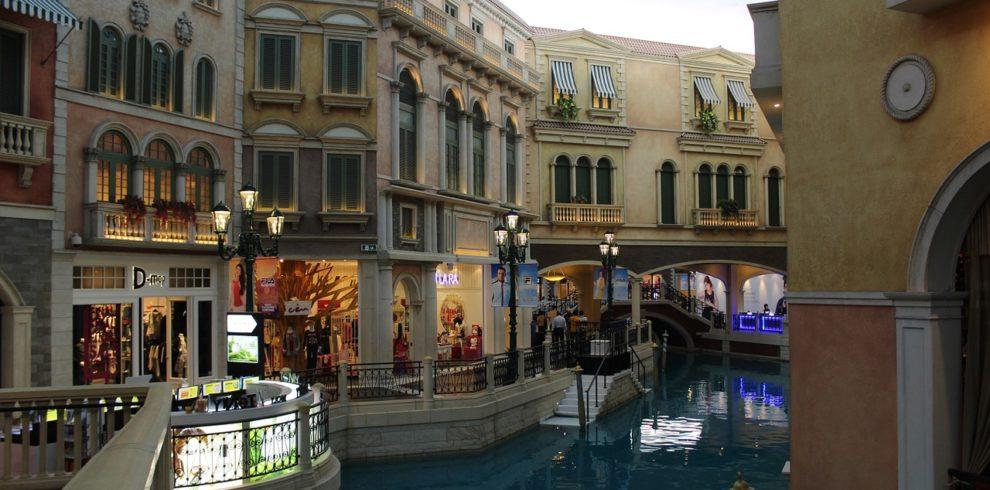 Inside of the Venetian Macau