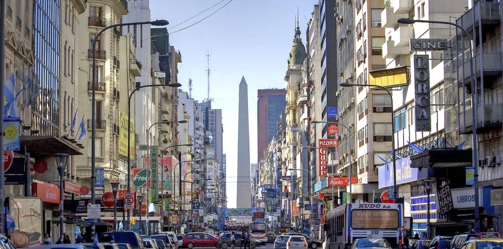Photo of Buenos Aires street