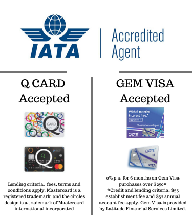 We accept Q card and Gem Visa